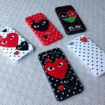 PLAY COMME des GARCONS Case (TPU) - iPhone 4, 4s