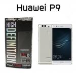 Huawei P9 (GLASS M) - ฟิลม์ กระจก นิรภัยกันแตก แบบใส Dapad แท้