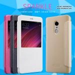 Xiaomi Redmi Note 4X - เคสฝาพับ Nillkin Sparkle leather case แท้
