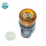 Buzzer LED Alert 5-12V เสียงและแสงสัญญาณเตือนภัย ออดไฟฟ้า ไฟสีเหลือง 5-12V
