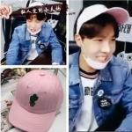 หมวก FRESH FRUIT pink แบบ J-HOPE