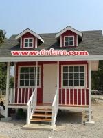 บ้านโมบบายสไตล์ตะวันตก ขนาด 4*4 ราคา 230,000 บาท