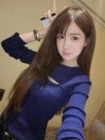 (สีน้ำเงิน) เสื้อทำงานแฟชั่นเกาหลีออฟฟิศ ผ้ายืด คอกลม แขนยาว เปิดช่วงอก เข้ารูป (ใหม่ พร้อมส่ง) ร้าน LadyShop4U