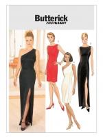 แพทเทิร์นตัดเดรสสตรี Butterick 4343 ไซส์ปกติ Size: 6-8-10-12 (อก 28-30-32-34 นิ้ว)
