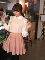 เสื้อแฟชั่น เสื้อทำงาน เสื้อลำลอง แขนยาว คอปก แนววินเทจ (สินค้าใหม่ พร้อมส่ง) ร้าน LadyShop4U