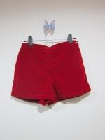 กางเกงไปทะเล กางเกงแฟชั่น กางเกงลำลอง กางเกงใส่เล่น กางเกงใส่เที่ยว สีแดงสด กำมะหยี่ สวย ดูดี (ใหม่ พร้อมส่ง) ร้าน Ladyshop4u