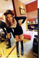 สีดำ ชุดเดรสสั้น เดรสแฟชั่นเกาหลี เดรสลำลอง เดรสน่ารัก เดรสเกาหลี เดรสทำงาน เดรสดินเนอร์ เดรสน่ารัก (ใหม่ พร้อมส่ง) ร้าน Ladyshop4u
