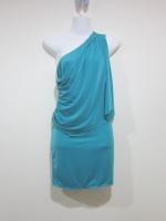 (สีเขียว)ชุดเดรสแฟชั่น เดรสออกงาน เดรสสั้น สีเขียว (ใหม่ พร้อมส่ง) ร้าน LadyShop4U