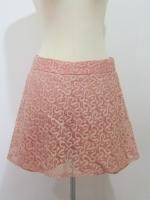 (ไซส์ L สีชาเย็น) กระโปรงกางเกง กางเกงกระโปรง ผ้าลูกไม้ กางเกงด้านในเป็นผ้าลูกไม้ ซิปหลัง(ใหม่ พร้อมส่ง) ร้าน ladyshop4u