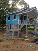 บ้านขนาด 3*7 พร้อมระเบียง 2*3 เมตร ราคา 265,000 บาท 1ห้องนอน 1ห้องน้ำ