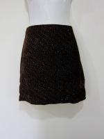 (สีน้ำตาลเข้ม) กระโปรงสั้น กระโปรงแฟชั่น กระโปรงทำงาน กระโปรงลำลอง สีน้ำตาลเข้ม ผ้ากำมะหยี่ ใส่สบาย สวย ดูดี (ใหม่ พร้อมส่ง) ladyshop4U