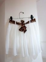 กระโปรง+กางเกง กระโปรงแฟชั่น กระโปรงทำงาน กระโปรงสั้น กางเกงกระโปรง สีขาว กางเกงด้านในสีขาว สวย ดูดี (ใหม่ พร้อมส่ง) Ladyshop4U