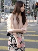 เสื้อทำงานแฟชั่นเกาหลี ผ้าชีฟอง แขนแต่งเป็นริ้วระบาย แขนสามส่วน คอกลม เสื้อแฟชั่นน่ารัก (ใหม่ พร้อมส่ง) ร้าน Ladyshop4u