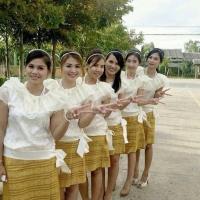 ชุดไทยเพื่อนเจ้าสาว ร.5 ร.6 ร.7
