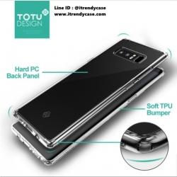 Samsung Note8 - เคสใส Ultra-Thin TPU/PC TOTU DESIGN แท้