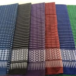 ผ้าถุง ผ้าซิ่น ลายละอองดาว (พับคู่) คละสี 90*180ซม ผืนละ 67 บาท ส่ง 100ผืน