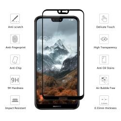 Huawei Nova 3e (เต็มจอ/กาวเต็ม) - กระจกนิรภัย P-One FULL FRAME แท้