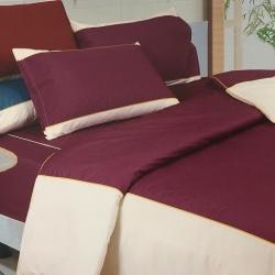 ผ้าปูที่นอน ทูโทน รัดมุม10นิ้ว ผ้าCVC250เส้นด้าย มี7สี 5/ 6 ฟุต 3ชิ้น ชุดละ 560 บาท ส่ง 20ชุด