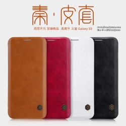 Samsung S9 - เคสฝาพับ หนัง Nillkin QIN Leather Case แท้