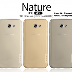 Samsung A7 2017 - เคสใส Nillkin Nature TPU CASE สุดบาง แท้
