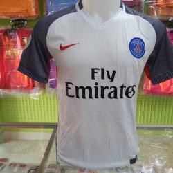 ชุดฟุตบอลทีม สโมสรปารีสแซงแยงแมง เยือนสีขาว ปี2016-2017