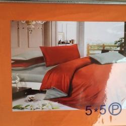 ผ้าปูที่นอน สีพื้น เกรดA 5ฟุต 5ชิ้น คละลาย ชุดละ 155 บาท ส่ง 40ชุด