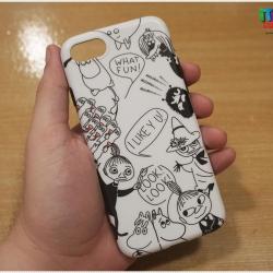 iPhone 8 / 7 - เคส TPU ลายมูมินและผองเพื่อน (Moomin and friend)