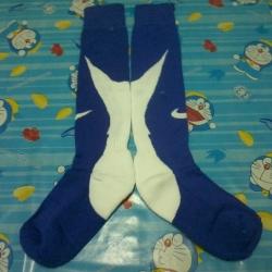 ถุงเท้า nike น้ำเงิน-ขาว