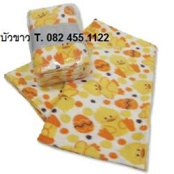 ผ้าห่มฟลีซ พิมพ์ลาย 50x75นิ้ว (125*190ซม) 500กรัม ผืนละ 90 บาท ส่ง 78 ผืน