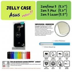 "Asus ZenFone 3 (5.5"") - เคส TPU Mercury Jelly Case (GOOSPERY) แท้"