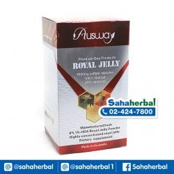 นมผึ้ง Ausway Royal Jelly 1600 mg นมผึ้งออสเวย์ เข้มข้น 6% SALE 60-80% ฟรีของแถมทุกรายการ