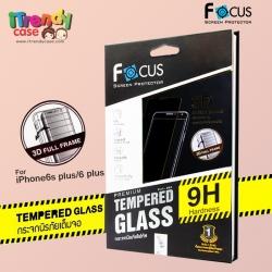 iPhone 6 / 6s (เต็มจอ/3D) - กระจกนิรภัย FULL FRAME FOCUS แท้