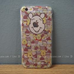 เคสใส TPU Winnie the Pooh Hunny - iPhone 6, 6s