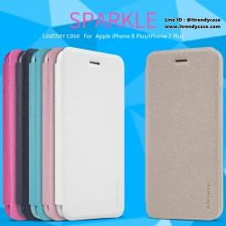 iPhone 8 Plus / 7 Plus - เคสฝาพับ Nillkin Sparkle leather case แท้