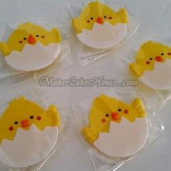 กัมเพสรูปลูกเจี๊ยบฟังจากไข่ ( 5 ชิ้น )
