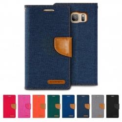 Samsung S8 - เคสฝาพับ Mercury Canvas Diary แท้