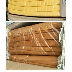 ผ้าเช็ดตัวนาโน พระ สีเหลือง/สีกรัก 30*60นิ้ว โหลละ 620บ ส่ง 12โหล