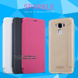 ASUS ZenFone 3 Max 5.5 - เคสฝาพับ Nillkin Sparkle leather case แท้