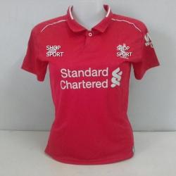 เสื้อบอลผู้หญิงทีมเหย้า Liverpool 2018 - 2019
