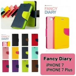 iPhone 7 - เคสฝาพับ Mercury Goospery Fancy Leather Case cover แท้