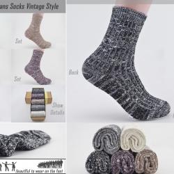 ถุงเท้าแบบโอลสคูลAS797 Set