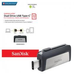 SanDisk Ultra Dual Drive usb Type-C 32gb แท้
