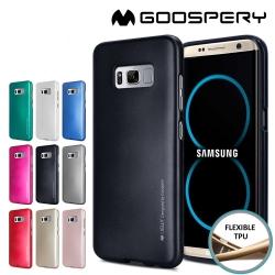 Samsung Galaxy S8 - เคส TPU i-Jelly Metal Case by GOOSPERY (Mercury) แท้