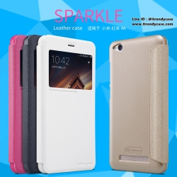 Xiaomi Redmi 4A - เคสฝาพับ Nillkin Sparkle leather case แท้