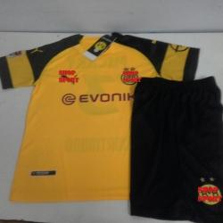 ชุดบอลเด็ก Dortmund ดอทมุนเหย้า2018-2019
