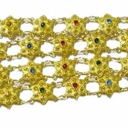สังวาลย์ทอง B3 - คละสี