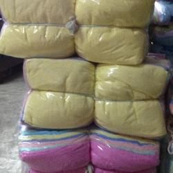 ผ้าขนหนู Cotton100% ผ้าเช็ดตัว สีหวาน 11ปอนด์ คละสี 30*60นิ้ว โหลละ 1435บาท ส่ง 10โหล