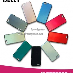 iPhone 7 Plus - เคส TPU i-Jelly Metal Case by GOOSPERY (Mercury) แท้