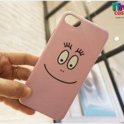 iPhone 7 Plus - เคส TPU ลาย barbapapa ชมพู