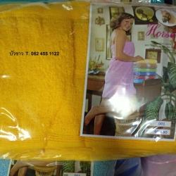 ผ้าห่มขนหนู Cotton100% 70x90นิ้ว (6ฟุต) สีพื้น 2.7ปอนด์ ผืนละ 455 บาท ส่ง 50 ผืน